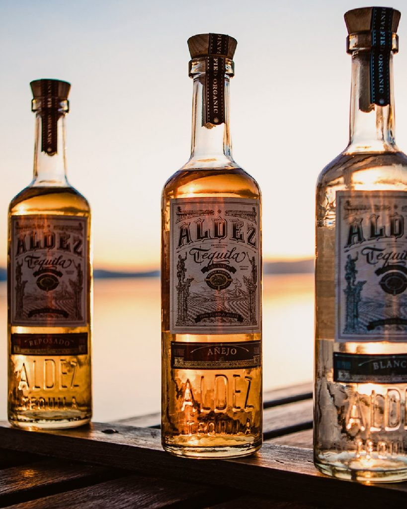 Best Tequila: Aldez organic tequila is available in 3 varieties