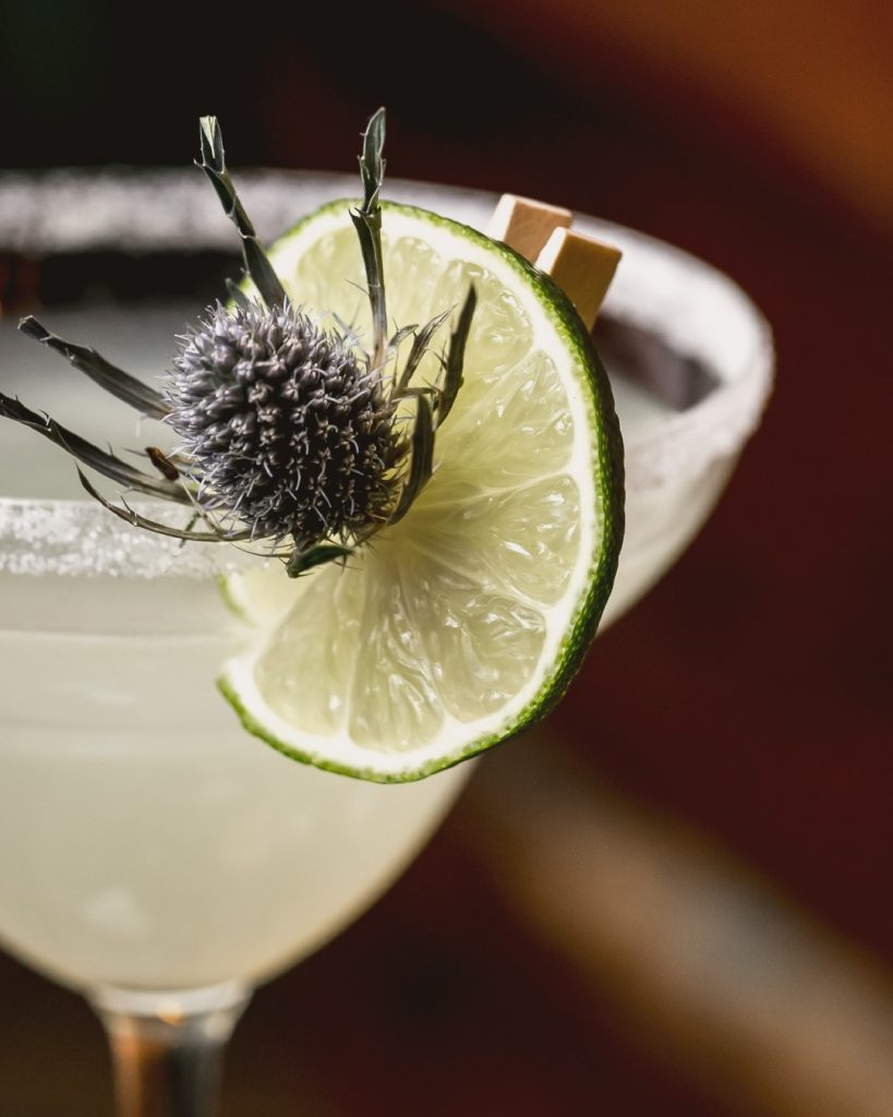 Best tequila recipes - cocktail garnish